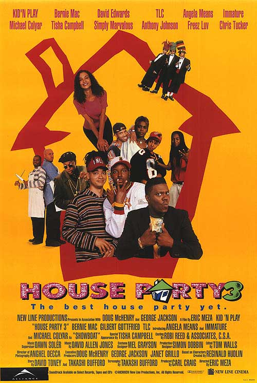 Fund Raising House Parties House Party Movie Logo